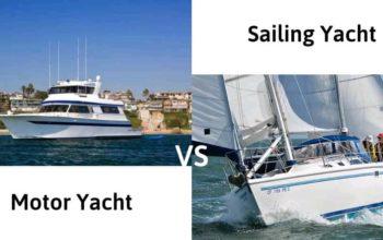 Motor Yacht vs. Sailing Yacht