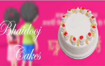 Bhai Dooj Cakes: Delightful Way to Adore Your Little Sister!