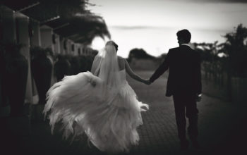 Black and white photography at weddings