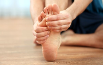 How relieve foot pain