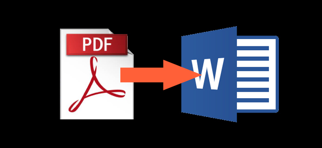 how to turn pdf files into word