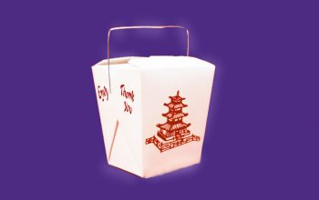 Printing Contemporary Chinese Takeout Boxes