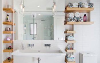 5 Best Space-Saving Bathroom Shelves