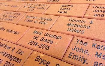 Engraved bricks for fundraising. Why and how?